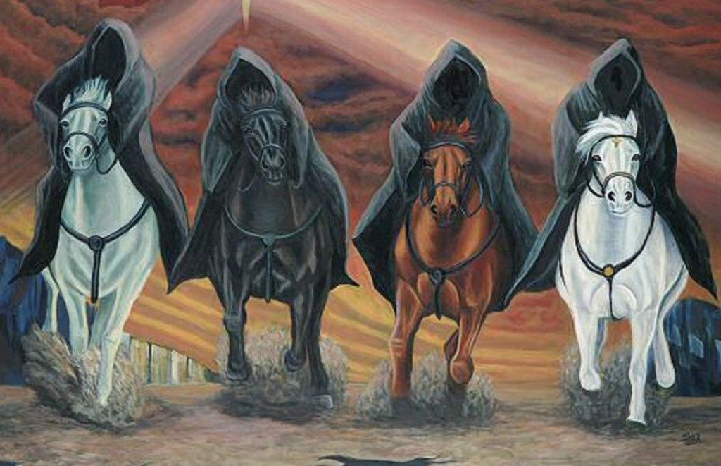 mahşerin dört atlısı ile ilgili görsel sonucu