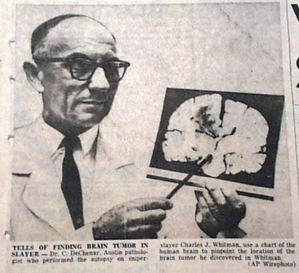 charles-whitman-beyin-tümörü